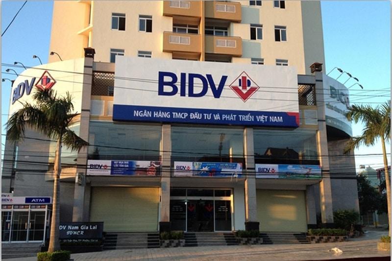 thời gian làm việc BIDV