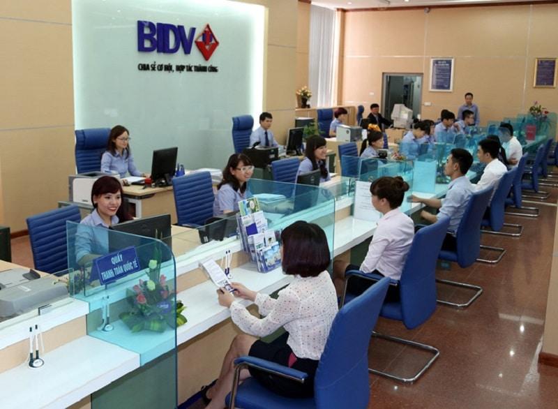 giao dịch BIDV Hà Nội