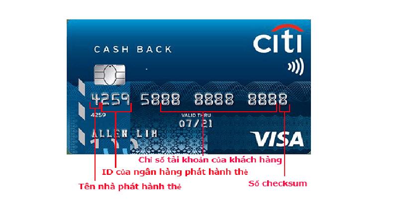 số thẻ tín dụng là gì?