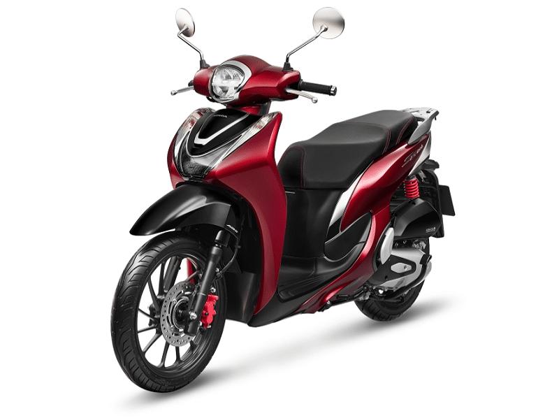 xe tay ga cho nữ - Xe SH Mode 2021 bản cá tính Đỏ - đen