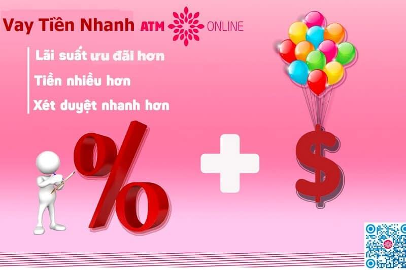 hướng dẫn vay tiền nhanh atm online