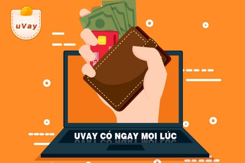 Hướng dẫn vay tiền nhanh uvay