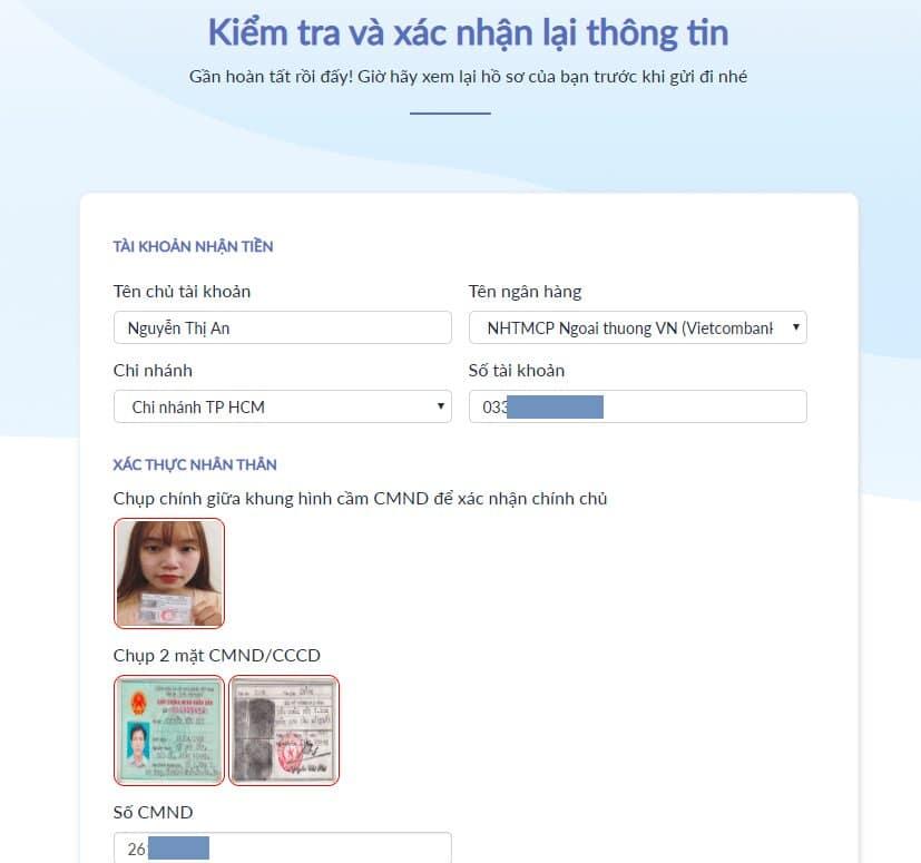Hướng dẫn vay tiền online Lendbox