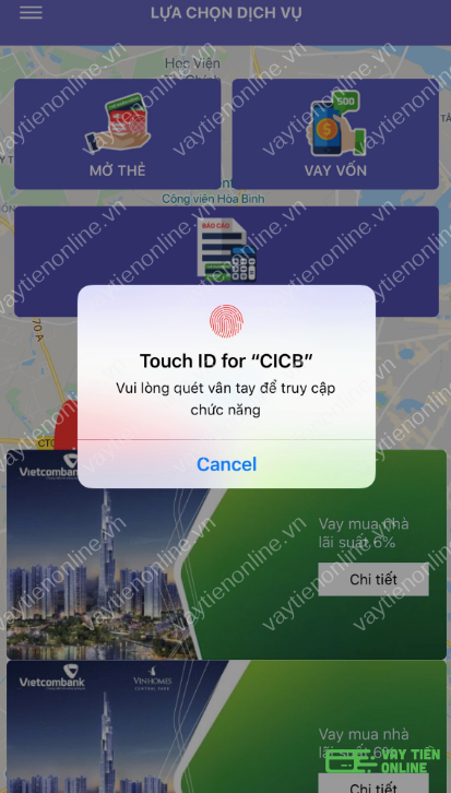 Tra cứu CIC online thông qua ứng dụng