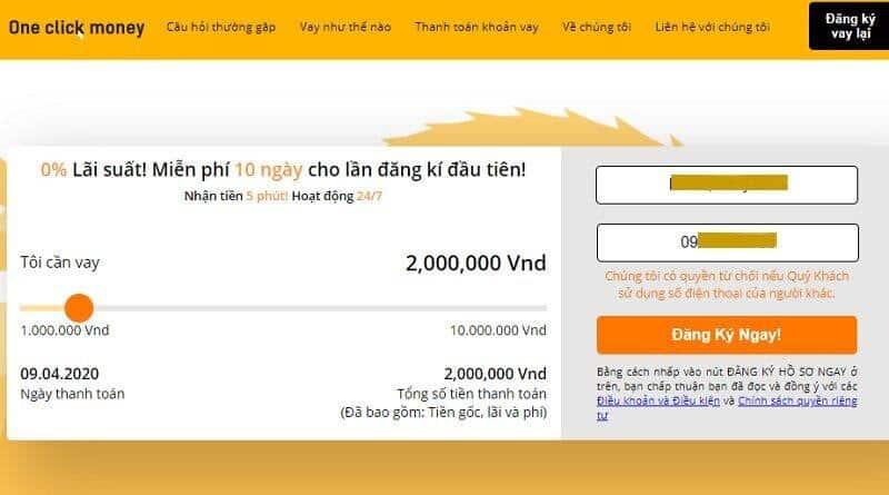 vay 3 triệu