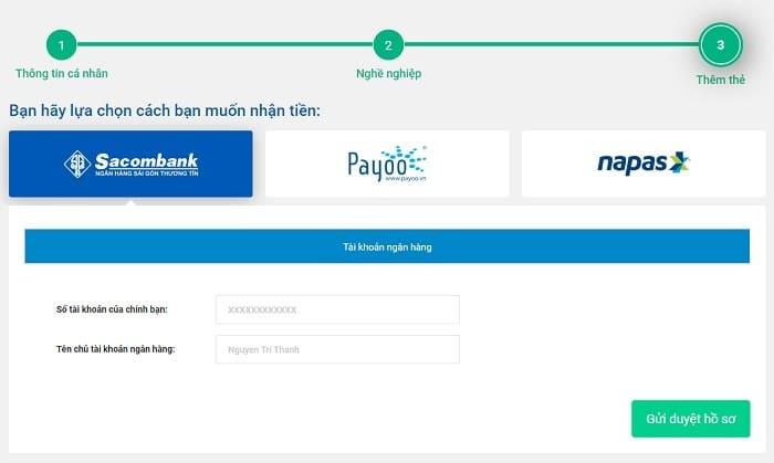 Hướng dẫn đăng ký vay tiền trên Oncredit