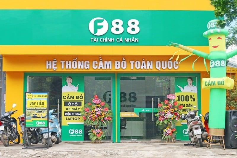 Dịch vụ cầm điện thoại giá cao F88