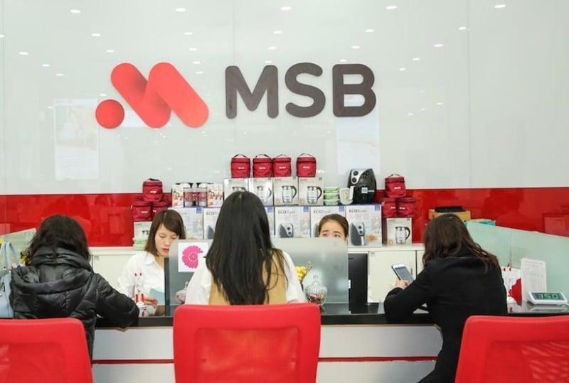 MSB chốt danh sách cổ đông hưởng quyền mua cổ phiếu quỹ ngày 15-1