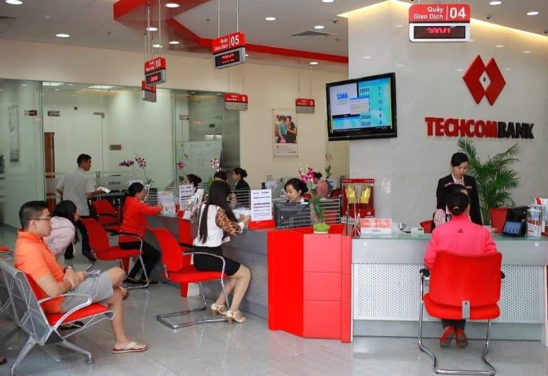 vay thế chấp sổ đỏ ngân hàng techcombank