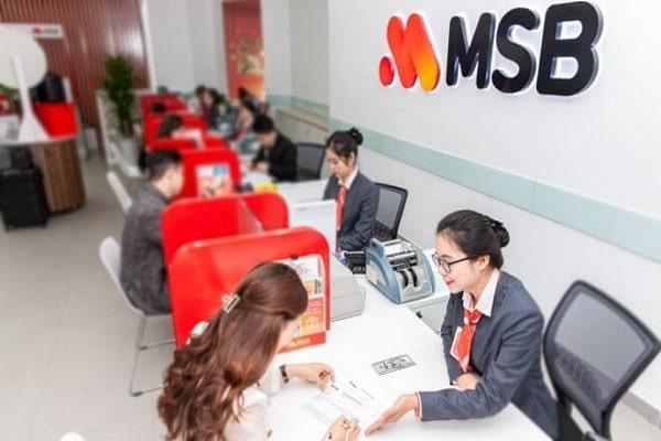 vay thế chấp sổ đỏ ngân hàng MSB