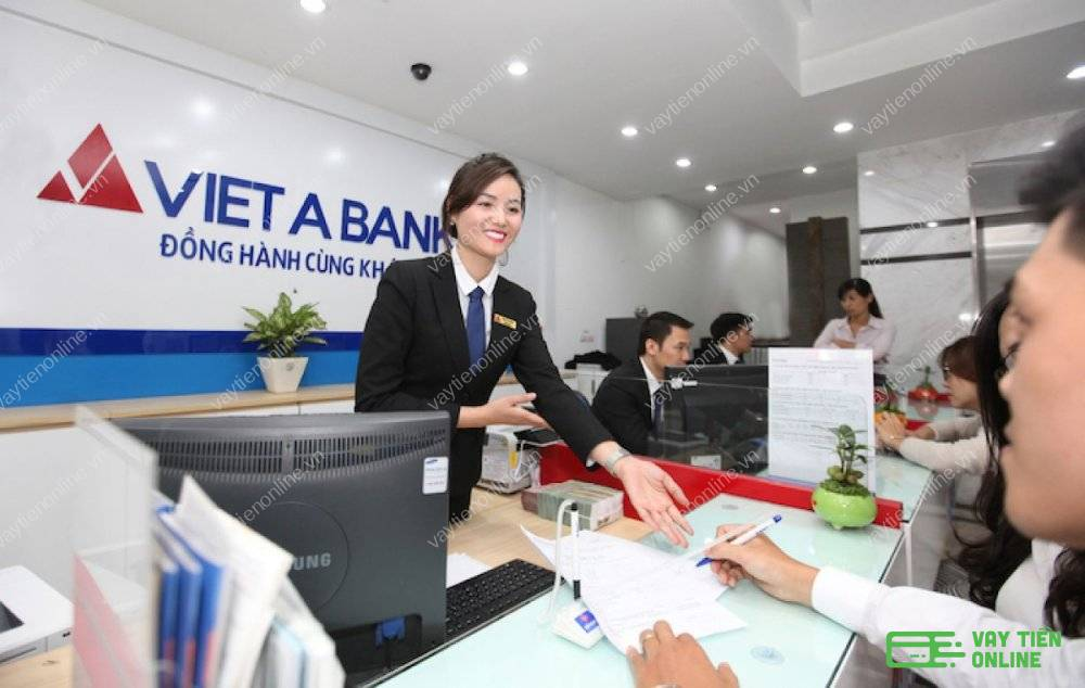 vay thế chấp sổ đỏ ngân hàng Việt Á