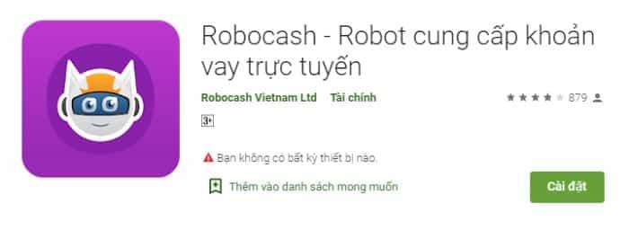 App vay tiền Robocash
