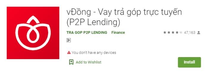 app vay tiền vĐồng