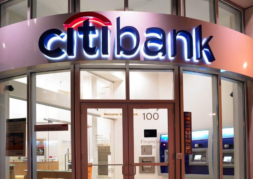 vay tín chấp ngân hàng Citibank