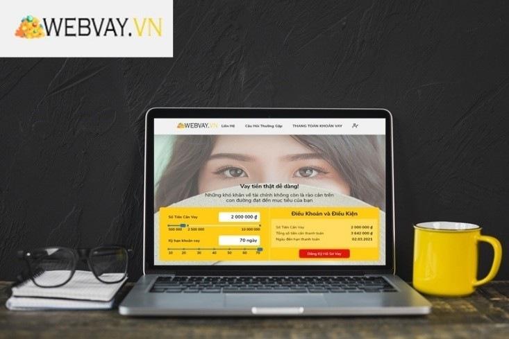 Hướng dẫn vay tiền webvay
