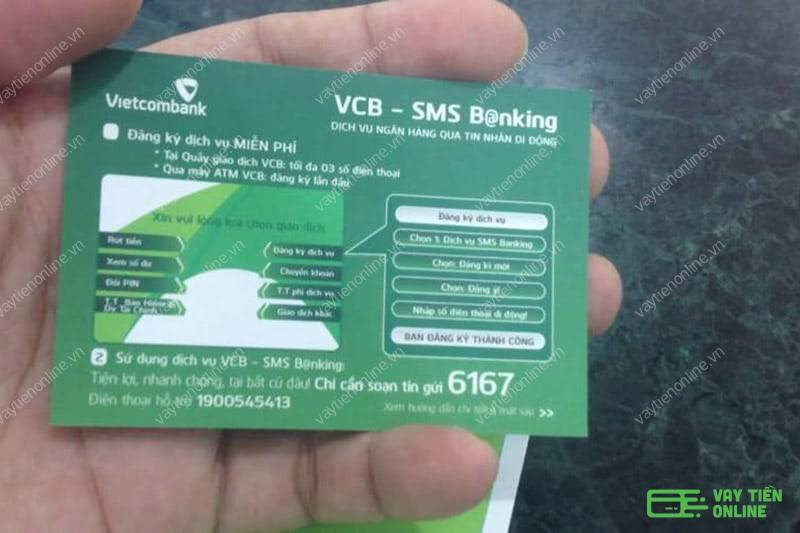 Cách đăng ký SMS Banking Vietcombank truy vấn nhanh chóng tiện lợi