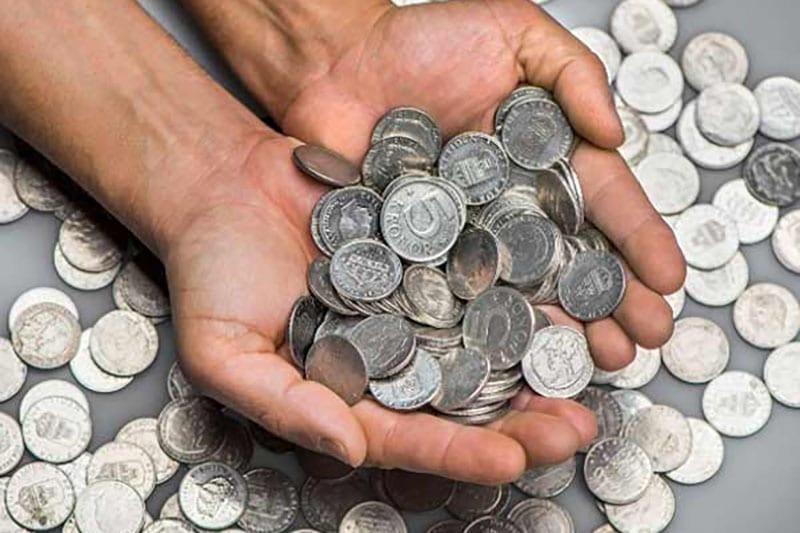 Giấc mơ thấy tiền xu là một điềm báo thiếu may mắn