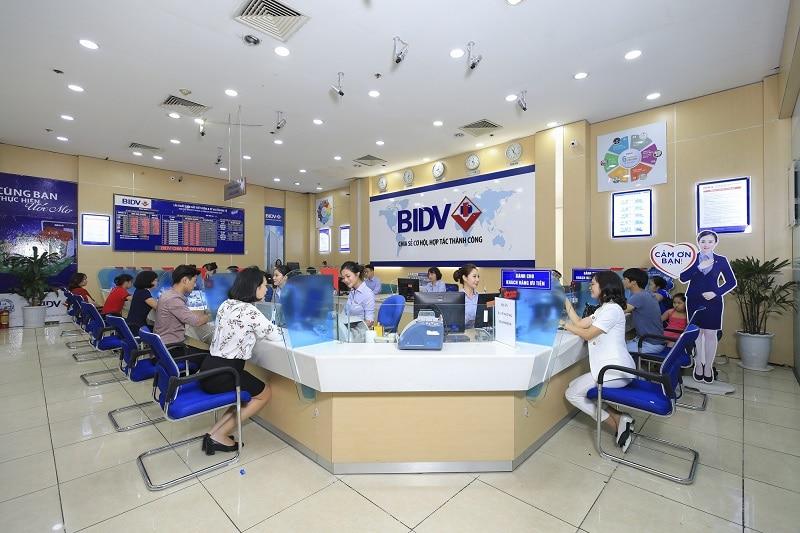 BIDV là một trong những ngân hàng Thương mại lớn nhất cả nước