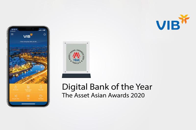 Ngân hàng Quốc Tế Việt Nam nhận nhiều giải thưởng lớn