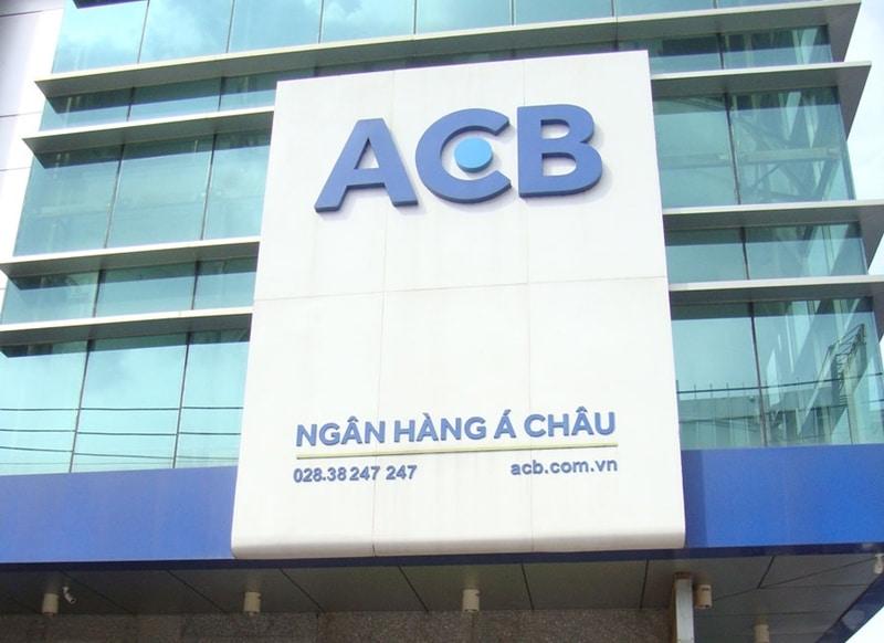 Ngân hàng ACB là một trong những ngân hàng uy tín nhất hiện nay