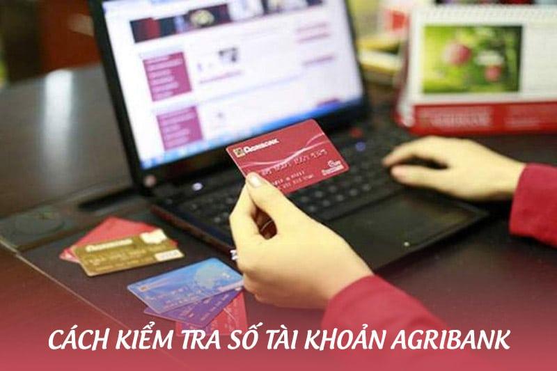 Hướng dẫn cách kiểm tra số tài khoản ngân hàng Agribank