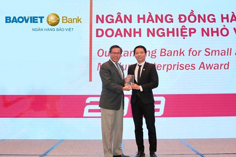 BaoViet Bank nhận nhiều giải thưởng trong và ngoài nước