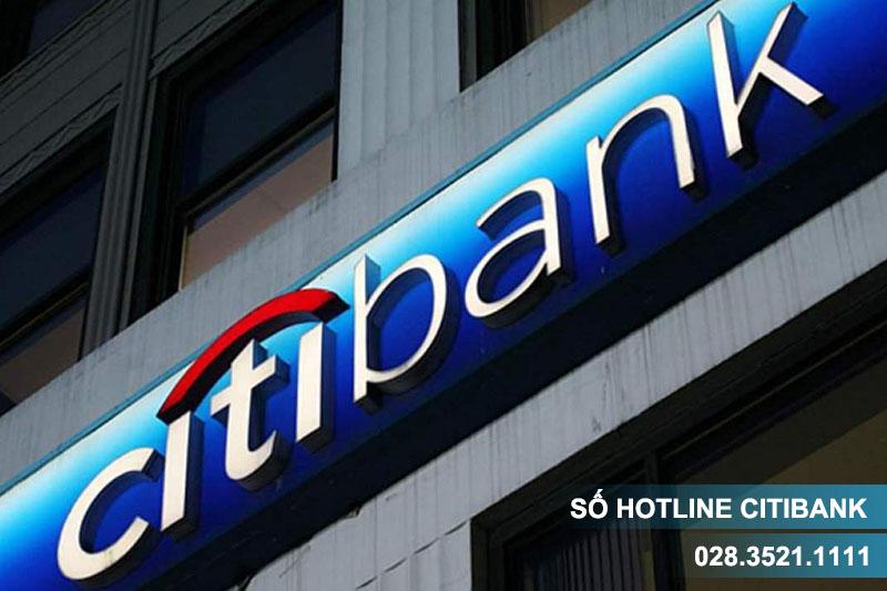 Hotline Citibank số mấy?