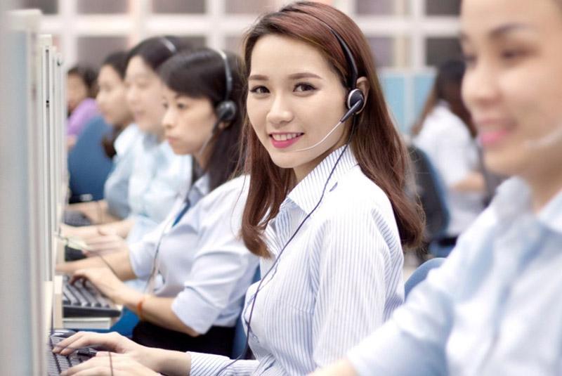 Citibank có đội ngũ tổng đài viên chăm sóc khách hàng chuyên nghiệp 24/7