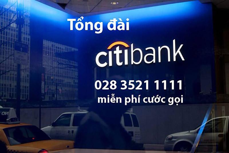 Số Hotline Citibank chăm sóc khách hàng 24/7 số mấy?