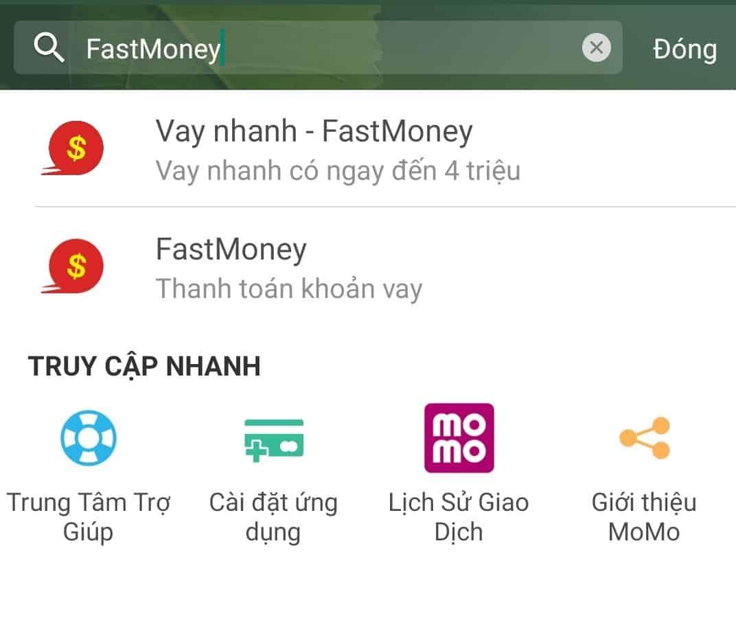 Hướng dẫn vay tiền FastMoney
