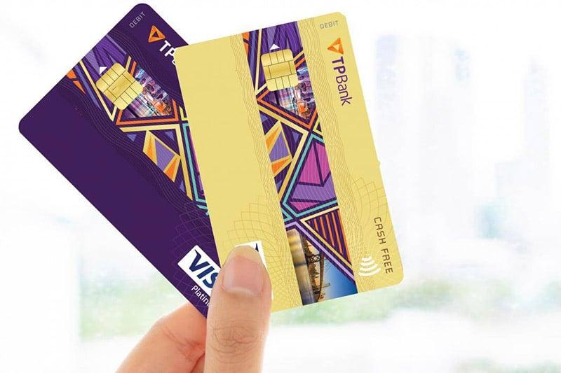 Các loại thẻ được phát hành bởi TpBank