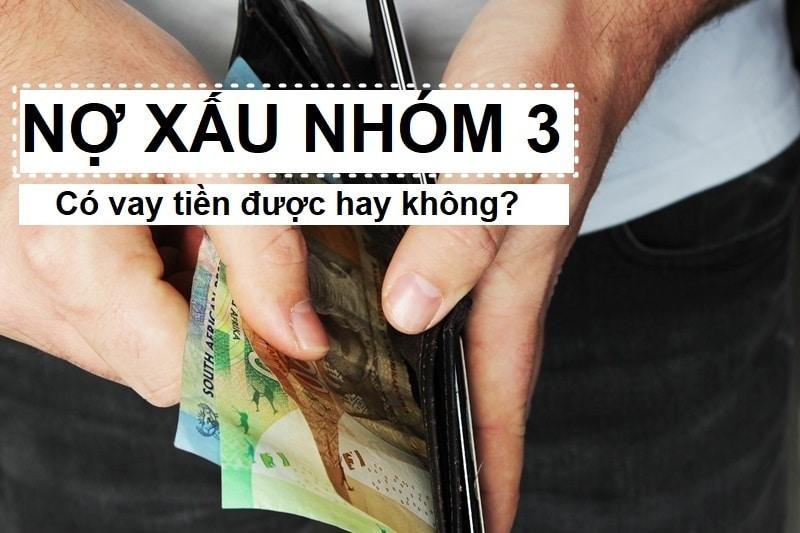 Nợ xấu nhóm 3