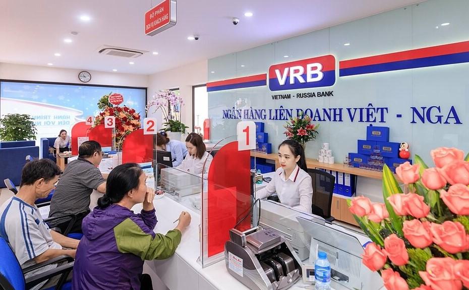 VRB cung cấp nhiều sản phẩm dịch vụ đáp ứng đa dạng nhu cầu tài chính của nhiều nhóm khách hàng