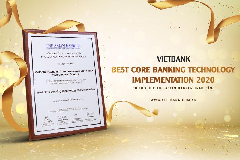 Ngân hàng Việt Nam Thương Tín nhận nhiều giải thường từ các tổ chức uy tín