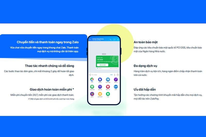 Ví ZaloPay mang đến sự tiện lợi trong việc thanh toán trực tuyến
