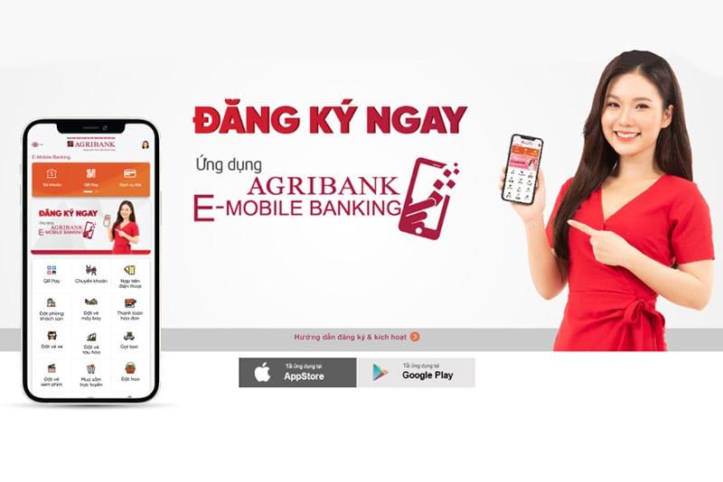 Đăng ký Agribank E-Mobile Banking