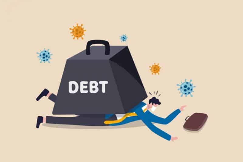 Khách hàng nợ xấu không thể vay tiền ở các ngân hàng/ tổ chức tài chính lớn