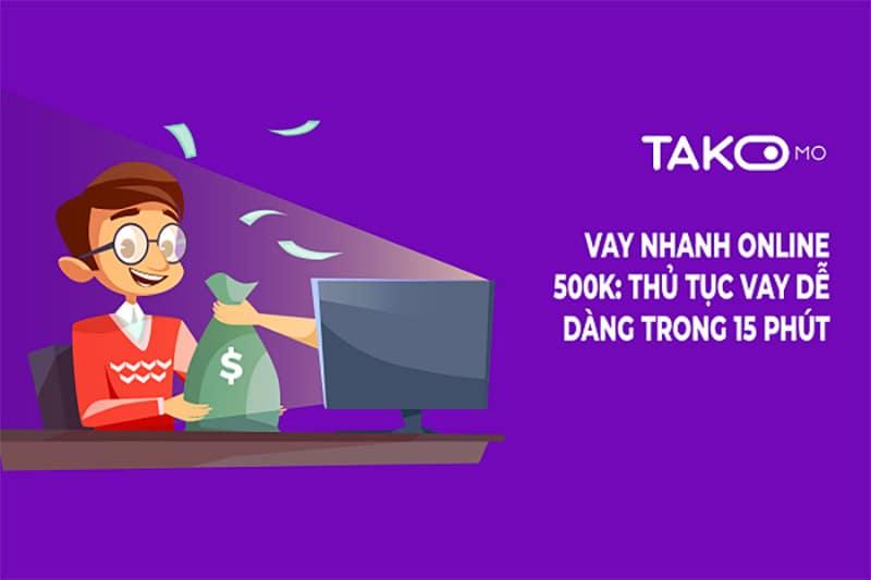 Takomo và nhiều ứng dụng vay tiền hỗ trợ nợ xấu đơn giản, thủ tục nhanh chóng