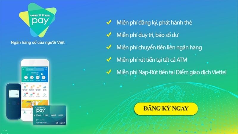 ViettelPay ví điện tử dành cho người Việt với nhiều tính năng nổi bật